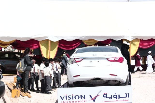 Road Safety Campaign in Salalah